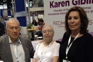 Dr Bernard Eskin and Mrs. Eskin with Karen Giblin.