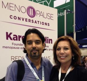 Dr. Puneet Arora and Karen Giblin