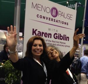 Dr. Sandra Murray and Karen Giblin