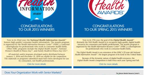 health awards