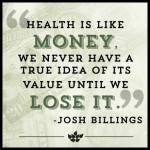 health is money