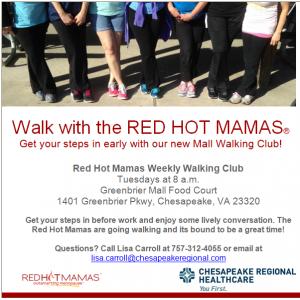 chesapeake walking group