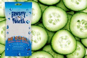 Frosty Towel Cucumber Image 2 shutterstock_140040988